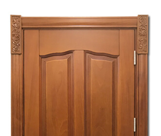 interior solid wooden door designs