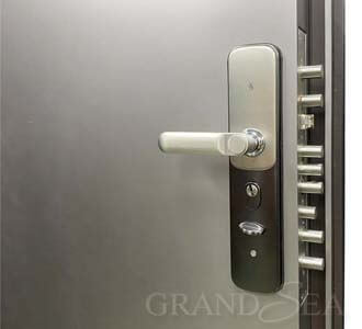 prehung steel security door