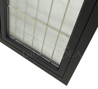 casement window grill design