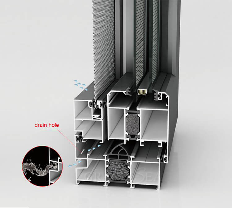 thermal break aluminum windows doors