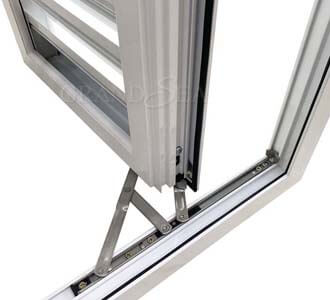 hurricane proof louver windows