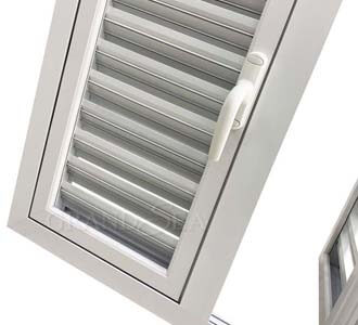 louver shutter windows