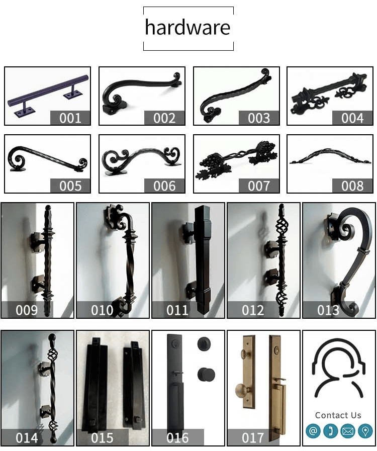 wrought iron outdoor