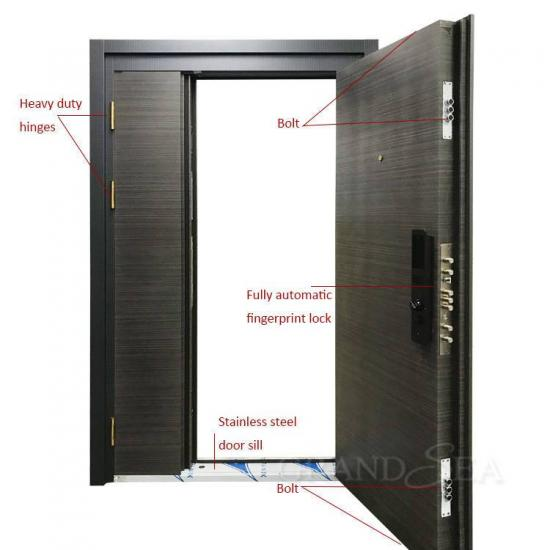 steel safety main front door